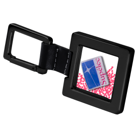porte-clés salsa carré