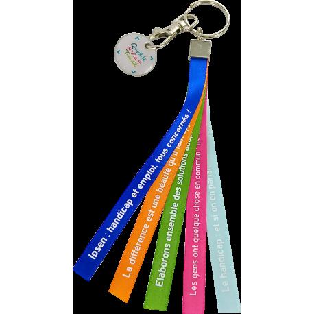 porte-clés rubans